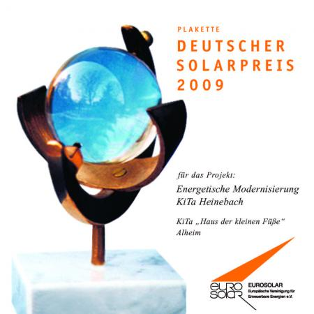 Deutscher Solarpreis 2011